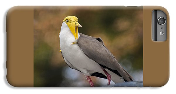 Lapwing iPhone 6s Plus Case - Masked Lapwing by Carolyn Marshall