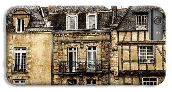 Town iPhone 6s Plus Case - Medieval Houses In Vannes by Elena Elisseeva