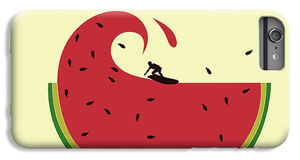 Melon Splash IPhone 6s Plus Case by Neelanjana  Bandyopadhyay