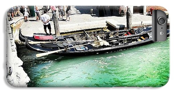 Place iPhone 6s Plus Case - #mgmarts #venice #italy #europe #canal by Marianna Mills
