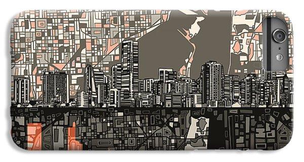 Miami Skyline Abstract 2 IPhone 6s Plus Case