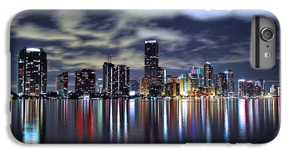 Miami Skyline IPhone 6s Plus Case by Gary Dean Mercer Clark