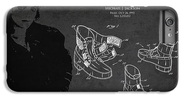 Michael Jackson Patent IPhone 6s Plus Case by Aged Pixel