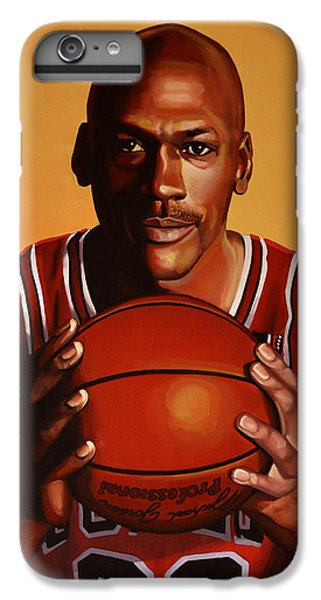Wizard iPhone 6s Plus Case - Michael Jordan 2 by Paul Meijering