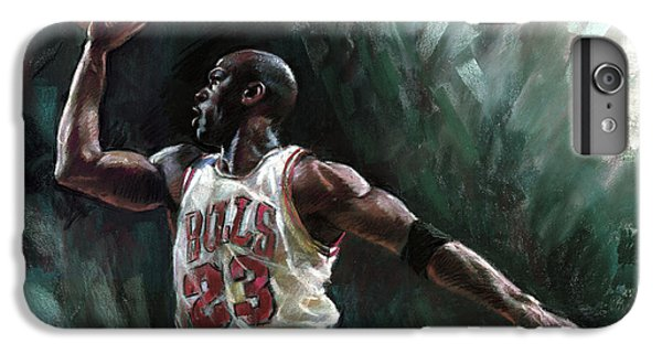 Michael Jordan IPhone 6s Plus Case by Ylli Haruni