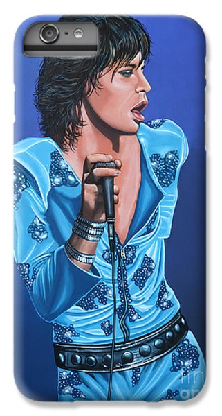 Goat iPhone 6s Plus Case - Mick Jagger by Paul Meijering
