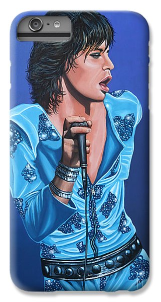 Musicians iPhone 6s Plus Case - Mick Jagger by Paul Meijering