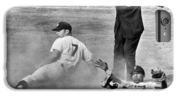 Mickey Mantle Steals Second IPhone 6s Plus Case by Underwood Archives