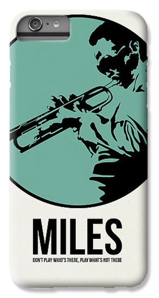 Jazz iPhone 6s Plus Case - Miles Poster 1 by Naxart Studio