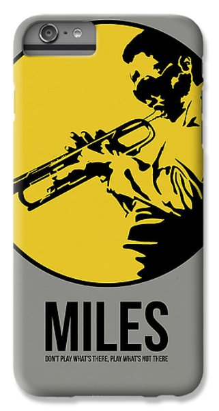 Jazz iPhone 6s Plus Case - Miles Poster 3 by Naxart Studio