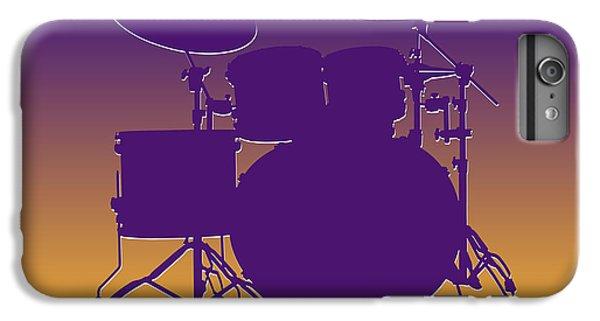 Minnesota Vikings Drum Set IPhone 6s Plus Case by Joe Hamilton