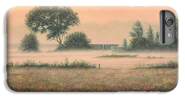 Salmon iPhone 6s Plus Case - Misty Morning by James W Johnson