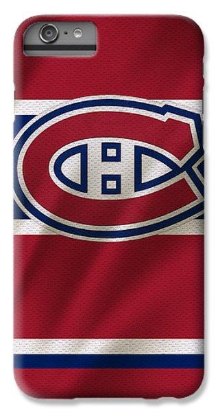 Hockey iPhone 6s Plus Case - Montreal Canadiens Uniform by Joe Hamilton