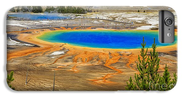 Grand Prismatic Geyser Yellowstone National Park IPhone 6s Plus Case