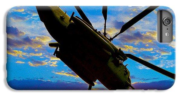 Helicopter iPhone 6s Plus Case - Morning Maneuvers  by Jon Neidert