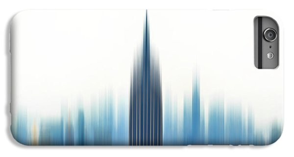 Empire State Building iPhone 6s Plus Case - Moving An Empire by Az Jackson