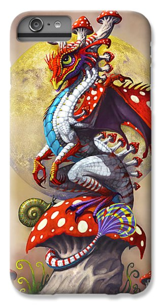 Dragon iPhone 6s Plus Case - Mushroom Dragon by Stanley Morrison