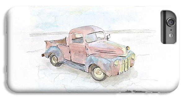 Truck iPhone 6s Plus Case - My Favorite Truck by Joan Sharron