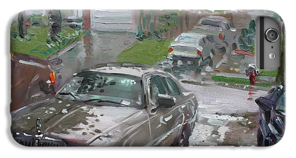 Town iPhone 6s Plus Case - My Lincoln In The Rain by Ylli Haruni