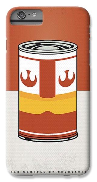 My Star Warhols Luke Skywalker Minimal Can Poster IPhone 6s Plus Case