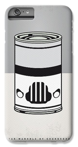 My Star Warhols Stormtrooper Minimal Can Poster IPhone 6s Plus Case
