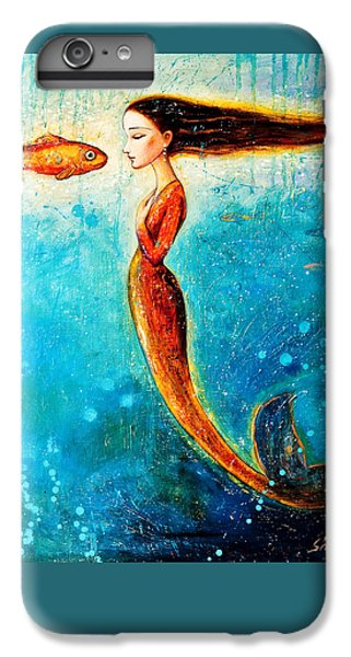 Extinct And Mythical iPhone 6s Plus Case - Mystic Mermaid II by Shijun Munns