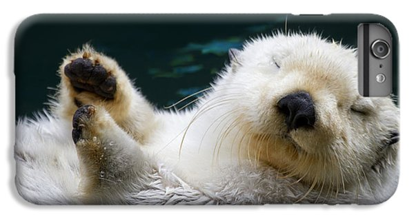Otter iPhone 6s Plus Case - Napping On The Water by Mike  Dawson
