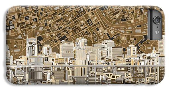 Nashville Skyline Abstract 2 IPhone 6s Plus Case