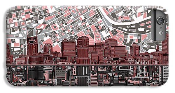 Nashville Skyline Abstract 3 IPhone 6s Plus Case