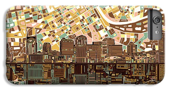 Nashville Skyline Abstract 4 IPhone 6s Plus Case