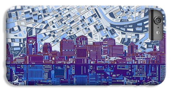 Nashville Skyline Abstract 8 IPhone 6s Plus Case