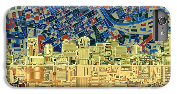 Nashville Skyline Abstract 9 IPhone 6s Plus Case