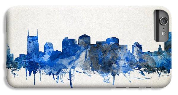 Nashville Skyline Watercolor 11 IPhone 6s Plus Case