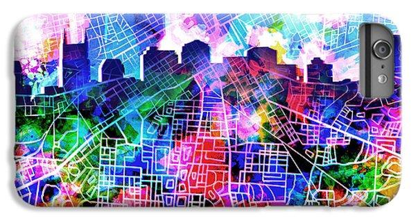 Nashville Skyline Watercolor 5 IPhone 6s Plus Case