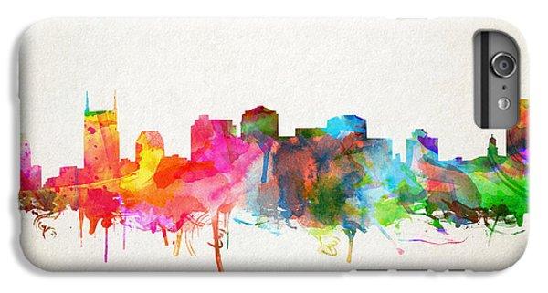 Nashville Skyline Watercolor 9 IPhone 6s Plus Case