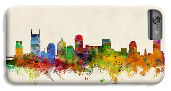 Nashville Tennessee Skyline IPhone 6s Plus Case by Michael Tompsett