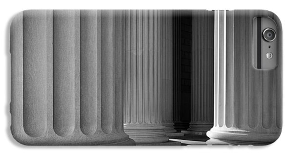 Greece iPhone 6s Plus Case - National Archives Columns by Inge Johnsson