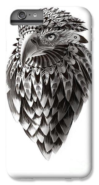 Falcon iPhone 6s Plus Case - Native American Shaman Eagle by Sassan Filsoof