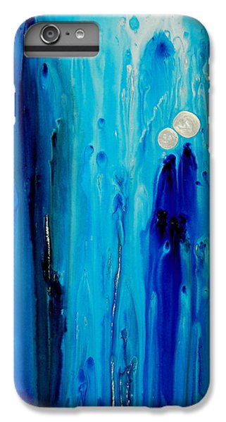 Abstract iPhone 6s Plus Case - Never Alone By Sharon Cummings by Sharon Cummings