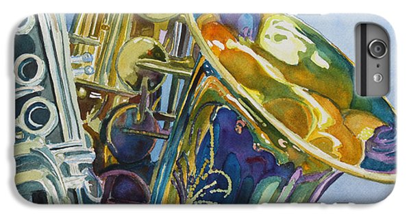 Saxophone iPhone 6s Plus Case - New Orleans Reeds by Jenny Armitage
