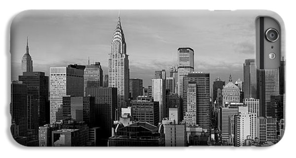 White iPhone 6s Plus Case - New York City Skyline by Diane Diederich