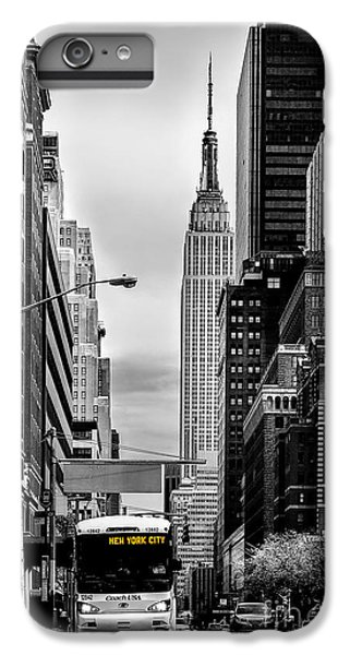 Empire State Building iPhone 6s Plus Case - New York Express by Az Jackson