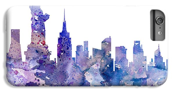New York City iPhone 6s Plus Case - New York by Watercolor Girl