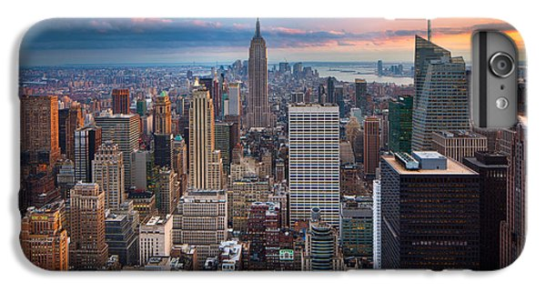 Empire State Building iPhone 6s Plus Case - New York New York by Inge Johnsson