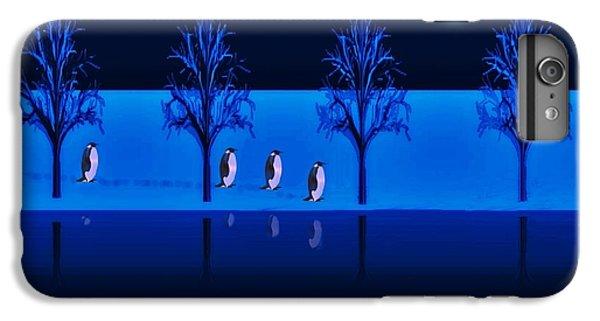 Night Walk Of The Penguins IPhone 6s Plus Case