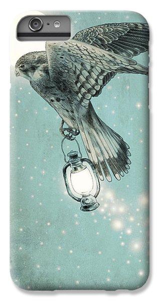 Hawk iPhone 6s Plus Case - Nighthawk by Eric Fan