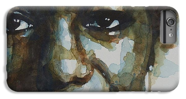 Musicians iPhone 6s Plus Case - Nina Simone Ain't Got No by Paul Lovering