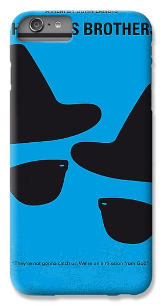 Time iPhone 6s Plus Case - No012 My Blues Brother Minimal Movie Poster by Chungkong Art