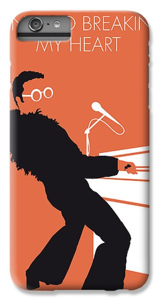 Musicians iPhone 6s Plus Case - No053 My Elton John Minimal Music Poster by Chungkong Art