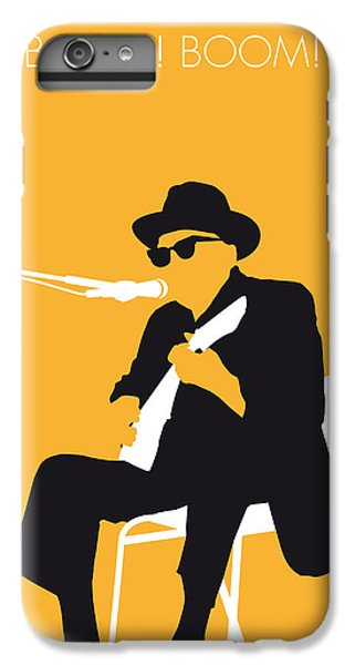 Rhythm And Blues iPhone 6s Plus Case - No054 My Johnny Lee Hooker Minimal Music Poster by Chungkong Art